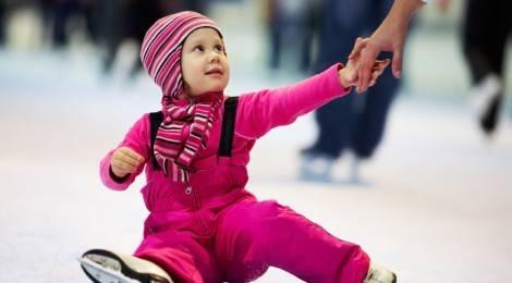 Детские коньки для самых маленьких или знакомство со льдом