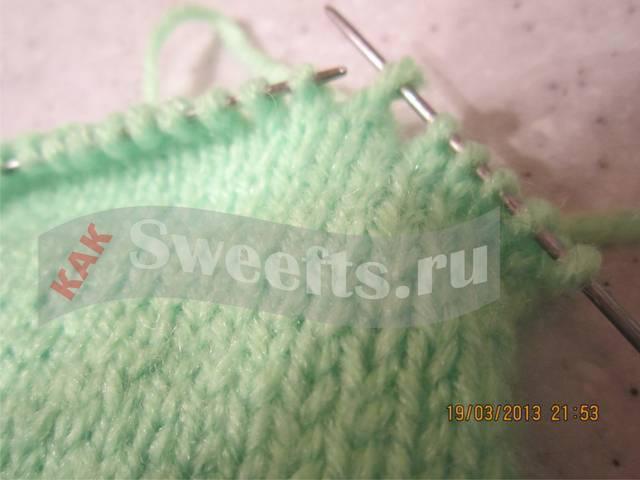 Связать носки спицами новичку 12_1