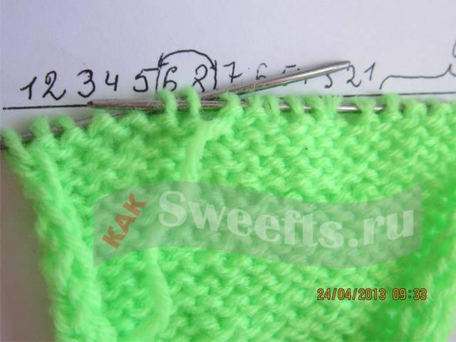 Связать носки спицами новичку 15_1