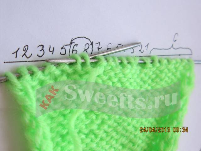 Связать носки спицами новичку 17_1