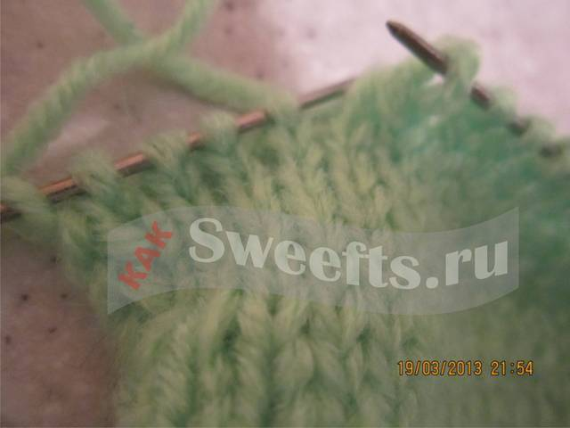 Связать носки спицами новичку 19_1