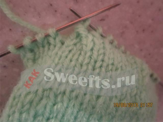 Связать носки спицами новичку 22_1