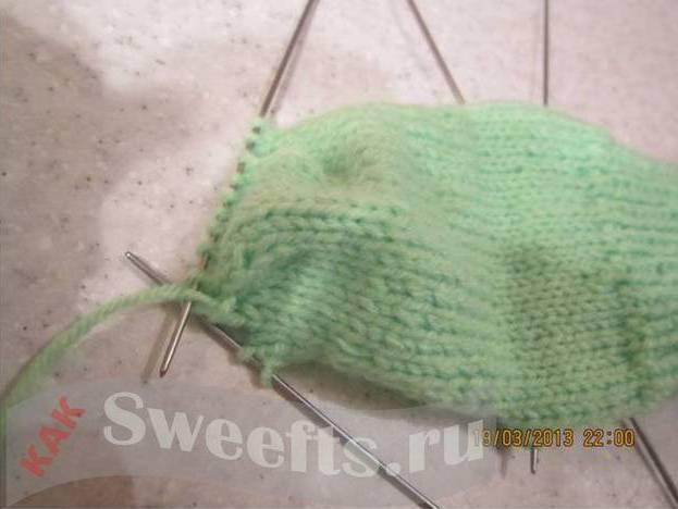 Связать носки спицами новичку 23_1