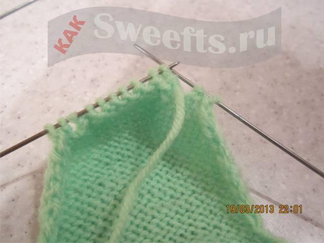 Связать носки спицами новичку 24_1