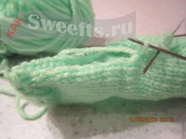 Связать носки спицами новичку 29_1