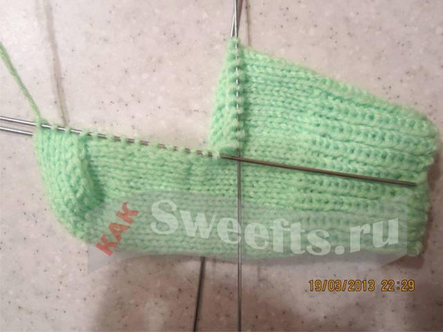 Связать носки спицами новичку 31_1