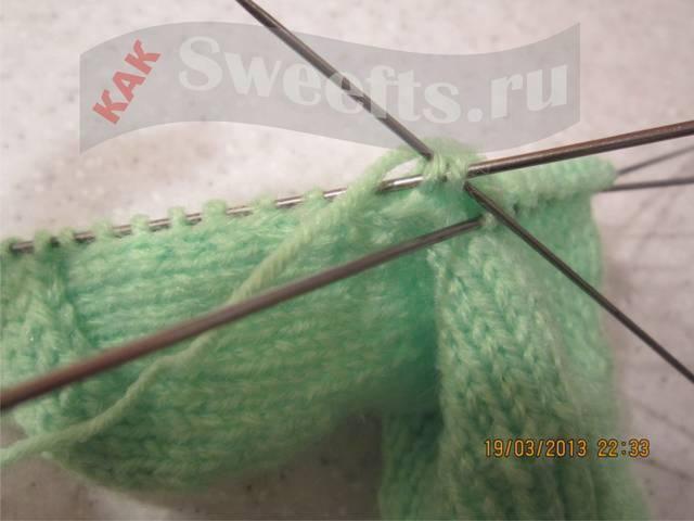 Связать носки спицами новичку 33_1