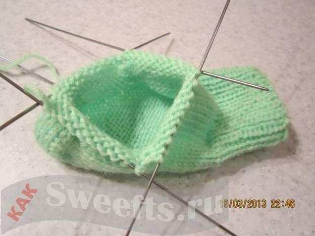 Связать носки спицами новичку 37_1