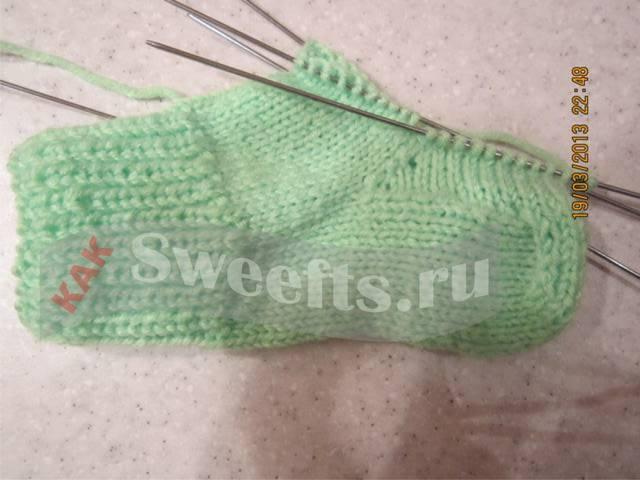Связать носки спицами новичку 38_1