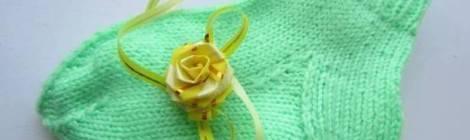 Азбука вязания: Как связать носки спицами новичку!