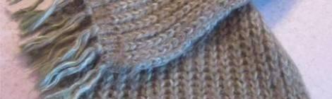 Азбука вязания: как научиться вязать шарф спицами!